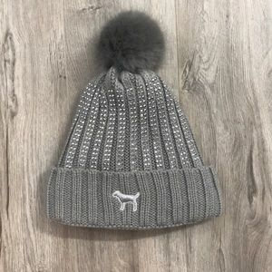 Sherpa studded hat